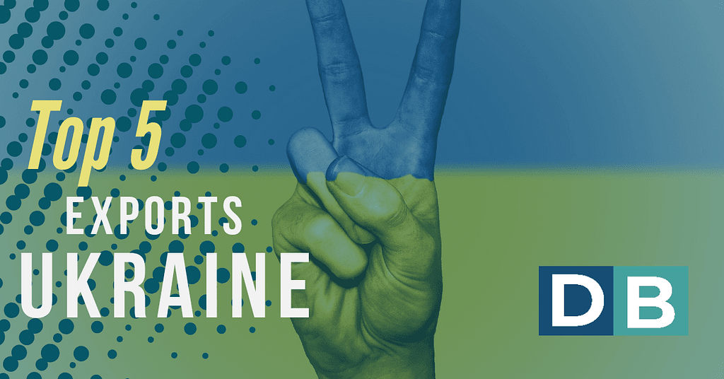 Top 5 Exports Ukraine 2019!