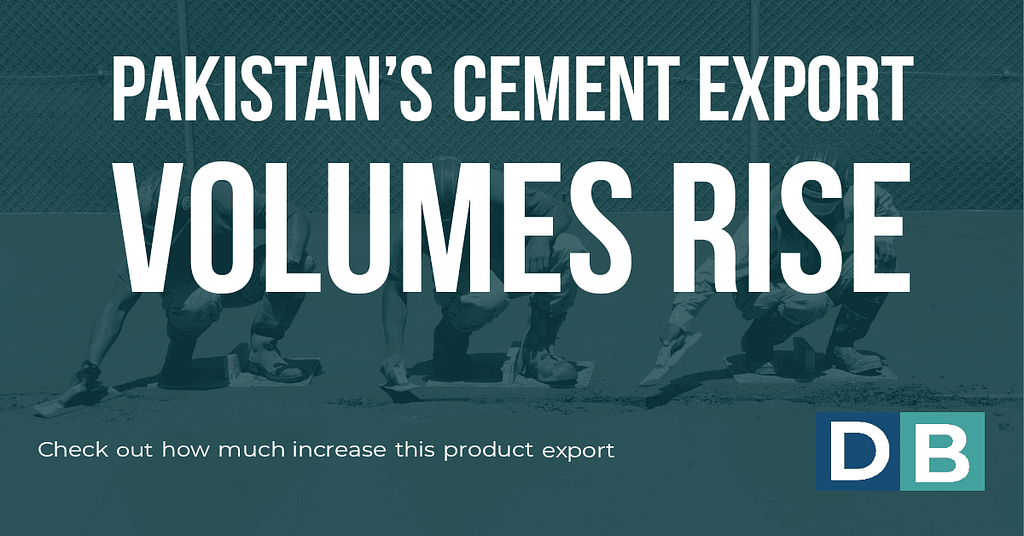 Pakistan's cement export volumes rise