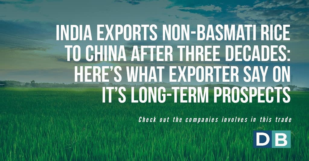 India Exports Non-Basmati Rice To China After Three Decades: Here's What Exporters Say On Its Long-Term Prospects