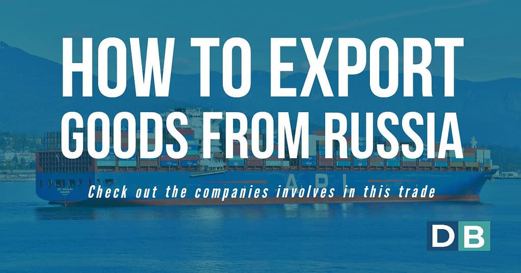 How to export goods From Russia
