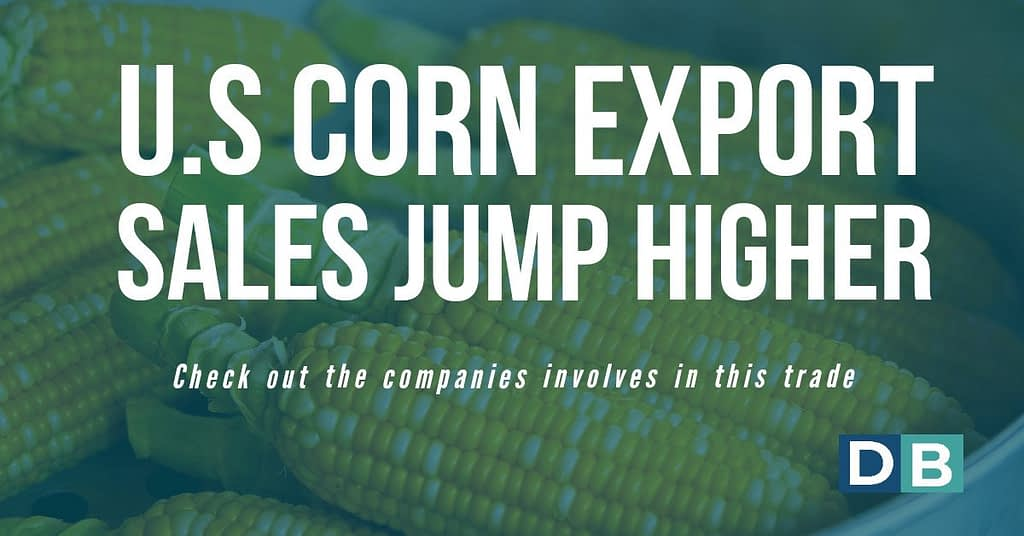 U.S. Corn Export Sales Jump Higher